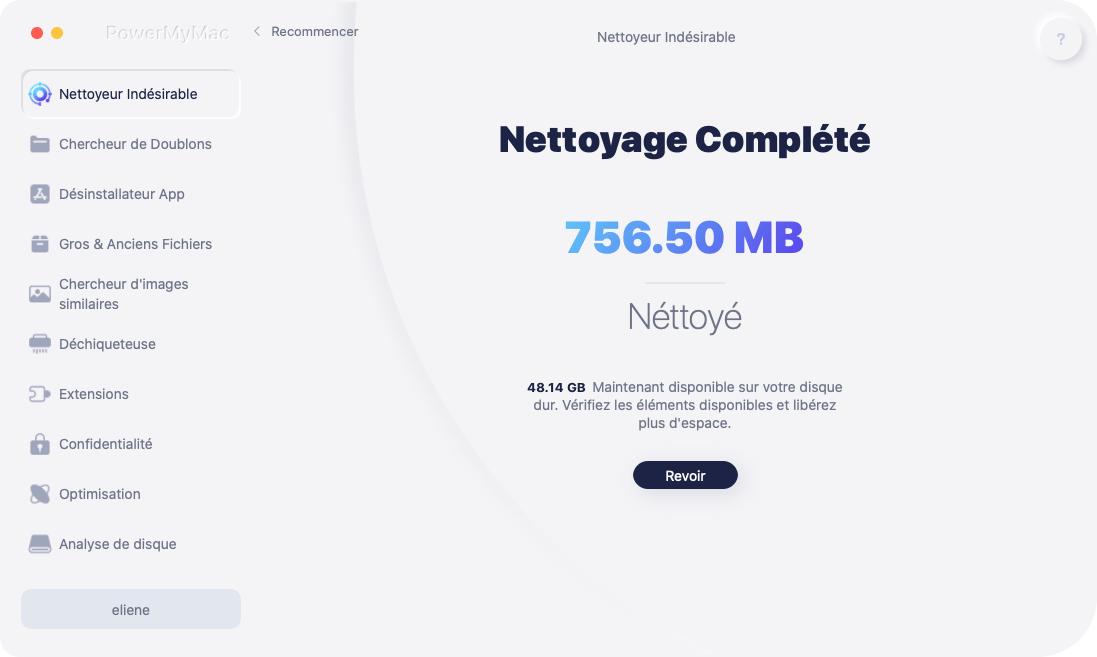 Vider la corbeille sur Mac
