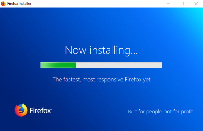Nettoyer Installer Firefox