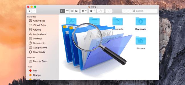Rechercher des fichiers en double sur Mac