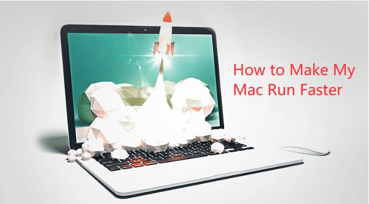 Comment faire fonctionner mon Mac plus vite