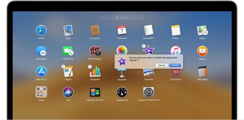 Supprimer des applications sur Mac