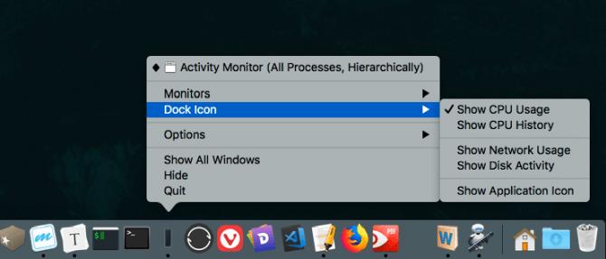 Afficher l'activité du processeur avec Activity Monitor