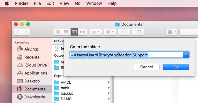 Suppression de fichiers temporaires