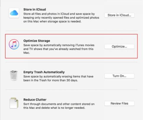 Comment gérer votre stockage Mac
